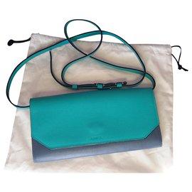 Lancel-Clutch bags-Blue