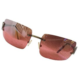 Céline-Des lunettes de soleil-Argenté,Rose