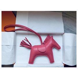 Hermès-Rodeo MM Rose Azalea-Rose