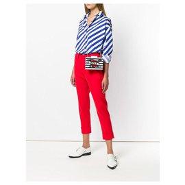 Karl Lagerfeld-Handbags-White,Red,Navy blue