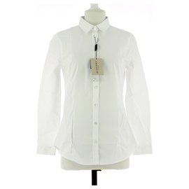 Burberry-Shirt-White