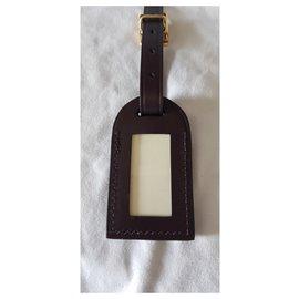 Louis Vuitton-DOOR ADDRESS-Dark red