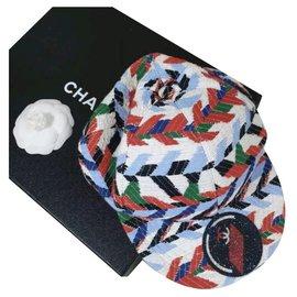 Chanel-CHANEL Airport Multicoloured  cap-Multiple colors