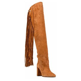 Chloé-Boots-Brown