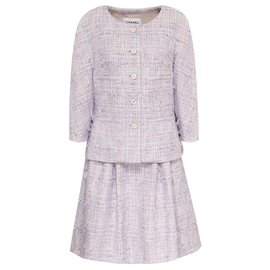 Chanel-new tweed skirt suit-Multiple colors