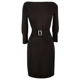 Chanel-trendy dress vintage style-Black