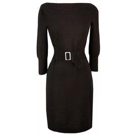 Chanel-robe tendance style vintage-Noir