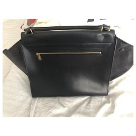 Céline-Handbags-Navy blue