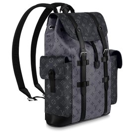 Louis Vuitton-Christopher backpack LV-Grey
