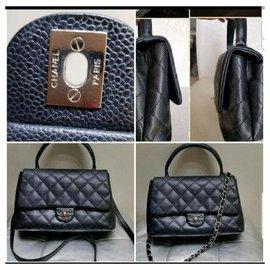 Chanel-Chanel Coco caviar-Black