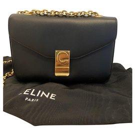 Céline-Classic C Bag-Noir