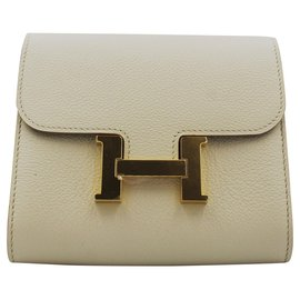 Hermès-Hermès Constance Wallet Compact-Cream