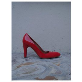 Céline-Heels-Red,Orange