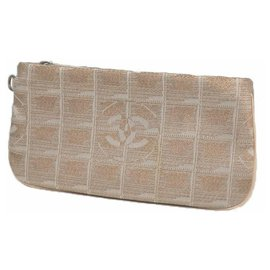 Chanel-New Travel Line Womens pouch pink-Pink