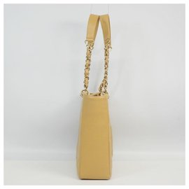 Chanel-PST chain tote coco Womens shoulder bag beige x gold hardware-Other