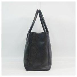 Chanel-cabas Executive Tote Bag pour femmes Black x Gold Hardware-Autre