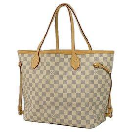 Louis Vuitton-NeverfullMM Sac cabas pour femmes N41361 Azur-Autre