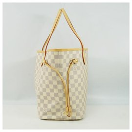 Louis Vuitton-NeverfullMM Womens tote bag N41361 Azur-Other