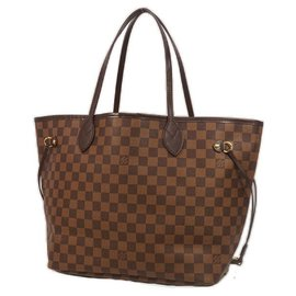 Louis Vuitton-NeverfullMM Sac cabas pour femmes N41603 Rose Ballerine-Autre