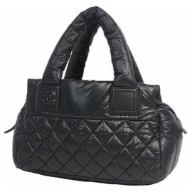 Chanel-coco Cocoon Womens Boston bag black x silver hardware-Other