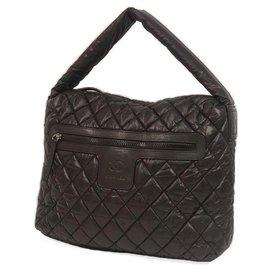 Chanel-coco Cocoon one shoulder Womens shoulder bag A48490 black-Black