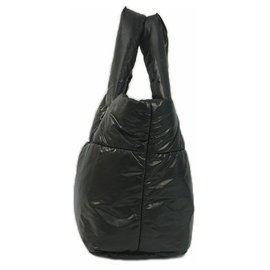 Chanel-COCO Cocoon totePM Womens tote bag A47108 black-Black