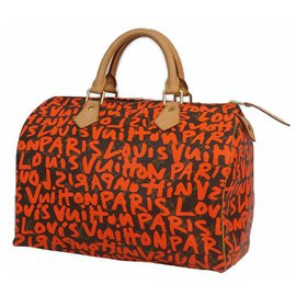 Louis Vuitton-Speedy30 Sac Boston femme M93705 d'orange-Orange