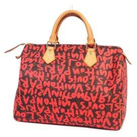 Louis Vuitton-Speedy30 Sac Boston femme M93704 Rose fuschia-Autre