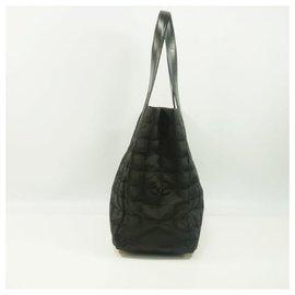 Chanel-Nouveau Travel Line toteMM tote bag A15991 black-Noir