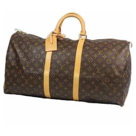 Louis Vuitton-KEEPALL55 sac Boston unisexe M41424-Autre