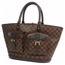 Louis Vuitton-ManosqueGM Sac cabas pour femmes N51120 Damier Ebene-Autre