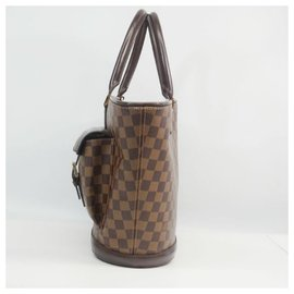 Louis Vuitton-ManosqueGM Womens tote bag N51120 damier ebene-Other