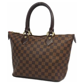 Louis Vuitton-SaleyaPM Womens tote bag N51183 damier ebene-Other