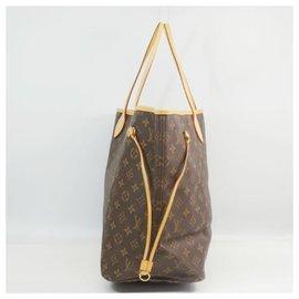 Louis Vuitton-NeverfullGM Sac cabas pour femmes M40157 marron-Marron