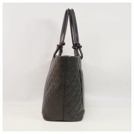 Chanel-Cambon large tote Womens tote bag A25169 noir x noir-Autre