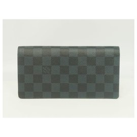 Louis Vuitton-Folded portofeuilles Brazza Womens long wallet N63212-Other