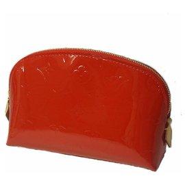 Louis Vuitton-Verni Pochette Cosmetics Womens pouch M91496 Damour apple-Other