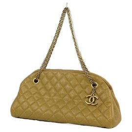 Chanel-Mademoiselle Bowling Womens shoulder bag gold x gold hardware-Other