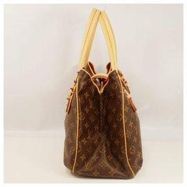 Louis Vuitton-Greet Womens shoulder bag M52210 Brown-Brown