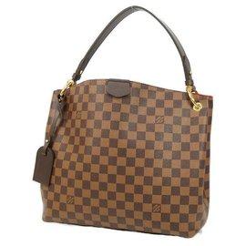 Louis Vuitton-Sac à bandoulière GracefulPM pour femmes N44044 Damier Ebene-Autre