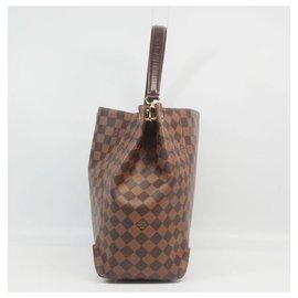 Louis Vuitton-Sac à bandoulière Caissa Hobo Femme N41555 Damier Ebene-Autre