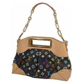 Louis Vuitton-Sac porté épaule JudyMM Femme M40256 Noir-Autre