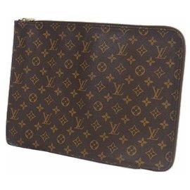 Louis Vuitton-Poche Documents Mens second bag M53457-Other