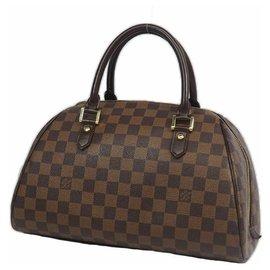 Louis Vuitton-Sac à main RiveraMM pour femmes N41434 Damier Ebene-Autre