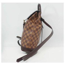 Louis Vuitton-Sac à dos Soho Womens ruck sac à dos N51132 Damier Ebene-Autre