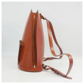 Louis Vuitton-Cobran Womens ruck sack Daypack M52293 kenyan brown-Other