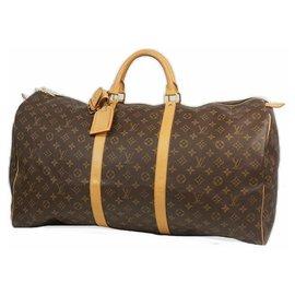 Louis Vuitton-keepall60 unisex Boston bag M41422-Other