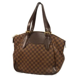 Louis Vuitton-Sac à bandoulière VeronaGM pour femmes N41119 Damier Ebene-Autre