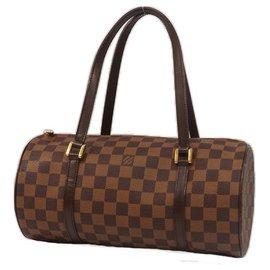 Louis Vuitton-PapillonGM Papillon30 Sac Boston femme N51303 Damier Ebene-Autre