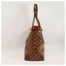 Louis Vuitton-HempsteadMM tote bag Sac à bandoulière pour femme N51204 Damier Ebene-Autre